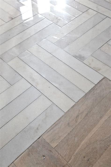 1000 ideas about herringbone marble floor on