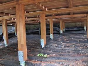 terrasse sur pilotis bois systembaseco With construire une terrasse en bois sur pilotis