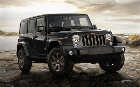 Jeep Wrangler Unlimited 75th Anniversary (2016) Eu