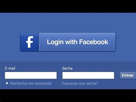 Facebook Login - YouTube