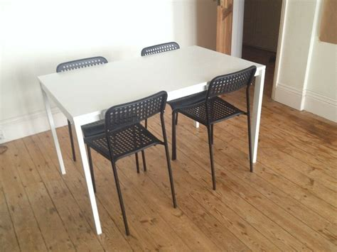 Melltorp Tisch Ikea by Ikea Melltorp Table And 4 Chairs In Brighton East