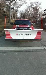 Blizzard Snow Plow Model 760