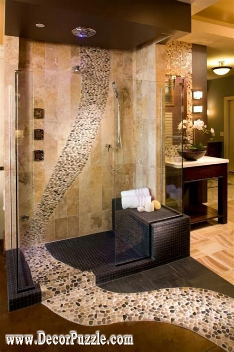 unique bathroom tile ideas top shower tile ideas and designs to tiling a shower