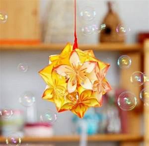 Origami Maison En Papier : 1001 projets diy super cool pour fabriquer un luminaire ~ Zukunftsfamilie.com Idées de Décoration