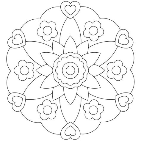 mandala bambini da colorare pdf mandala ausmalbild nr 10 mandalas mandala disegni di