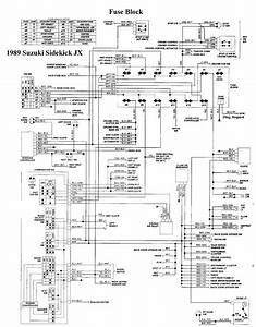 1993 Suzuki Sidekick Wiring Diagram