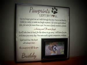 Personalized Dog Memorial Frames