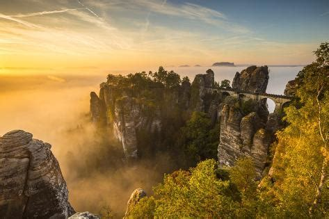 bastei bridge bastei saxon switzerland national park