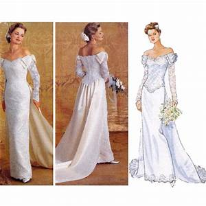 Bridal gown sewing pattern wedding dress pattern by zipzapkap for Sewing wedding dress