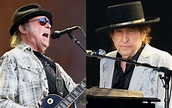 Bob Dylan & Neil Young in London: two legends doing ...