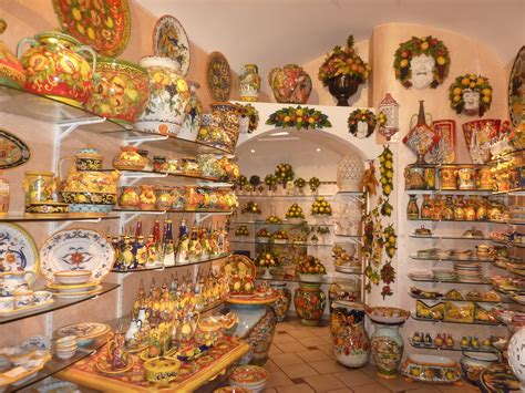 hometown abroad ceramic shop positano italy amalfi coast ceramics italian allure travel
