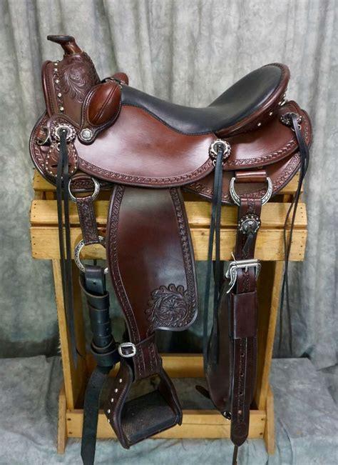 western saddles custom tack cascade quality wade visit carved lightly