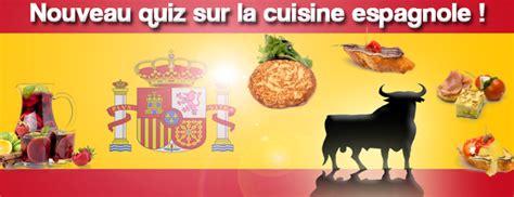 quiz sur la cuisine espagnole niveau facile