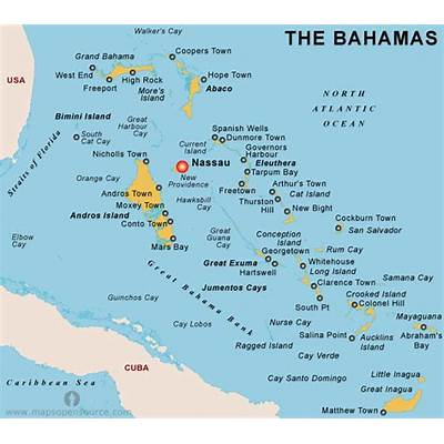 The Bahamas Country ProfileFree Maps of