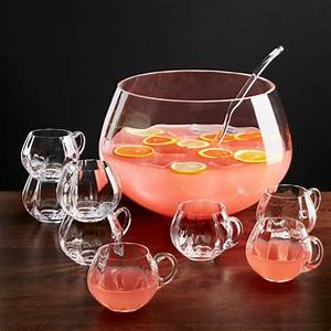 Britta Optic 10 Piece Punch Bowl Set Reviews Crate And