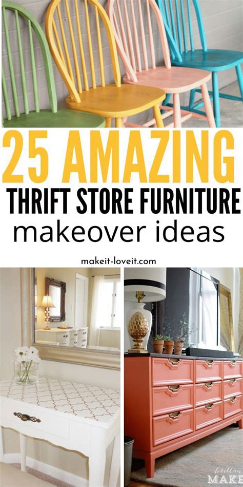 The russell home has a rich history dating back to 1951 when mrs. 25 Amazing Thrift Store Furniture Makeovers in 2020 ...