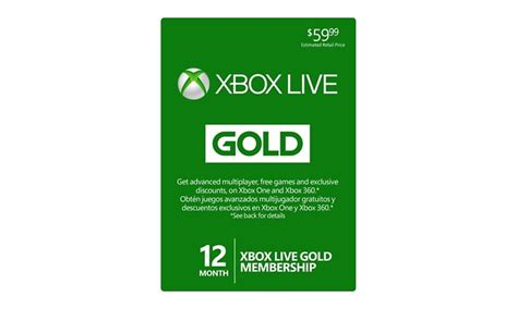 Maybe you would like to learn more about one of these? 12-Month Xbox Live Gold Card | Groupon Goods