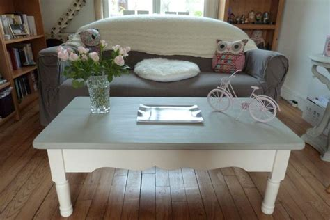 table basse peinte avec la chalk paint d annie sloan