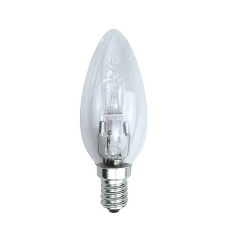 dimmable energy saving halogen candle bulb 42w ses e14