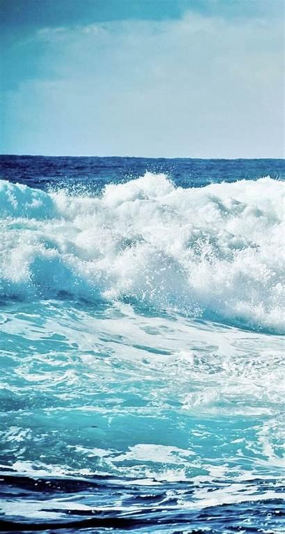 Ocean Waves Iphone Wallpapers Wave Sea Water