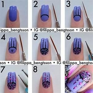 Easy step by valentine s day nail art tutorials