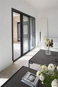 Menuiserie Salon De Provence : renovation menuiserie en aluminium noir sable sas cote ~ Premium-room.com Idées de Décoration