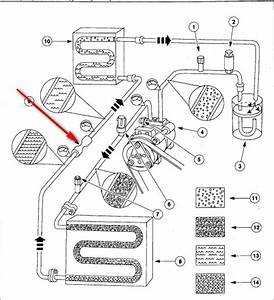 Where Is Located The Orifice Tube For 2003 Dodge Ram 1500