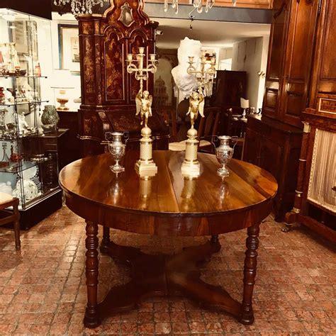 tavolo per sala da pranzo tavolo antico da pranzo in noce allungabile 1800