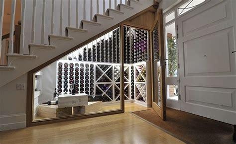 splash    wine cellar   stairs storage space   alcove wine area home