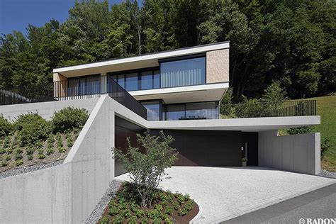 Moderne Häuser Mit Tiefgarage by Aicher Zt Gmbh Schruns Norman Radon Radon Photography