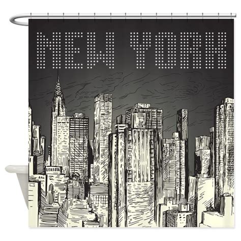new york city shower curtain by bestshowercurtains