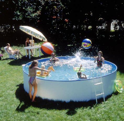 Der Eigene Garten Als Quelle Fuer Die Selbstverwirklichung by Aufstellpools So Finden Sie Das Richtige Schwimmbecken