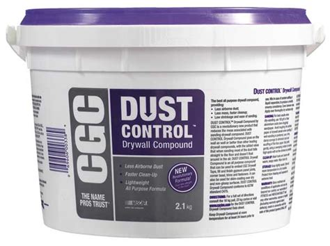 drywall compound dust control  hs building supplies