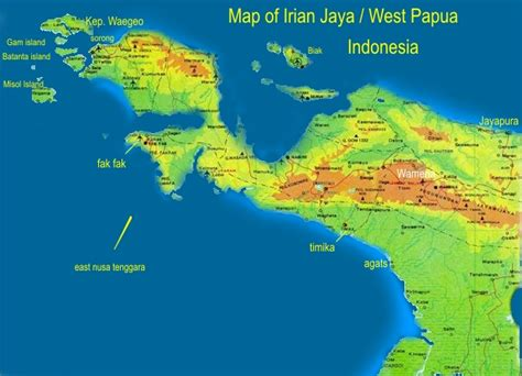 papua tours  baliem valley tours packages map