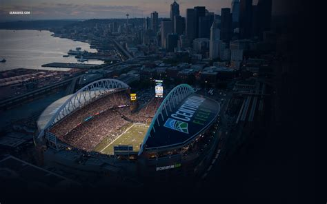 Seattle Seahawk Stadium Backgrounds | PixelsTalk.Net