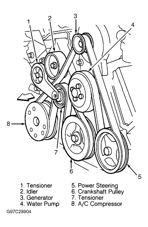 ford expedition   serpentine belt diagram serpentinebelthqcom