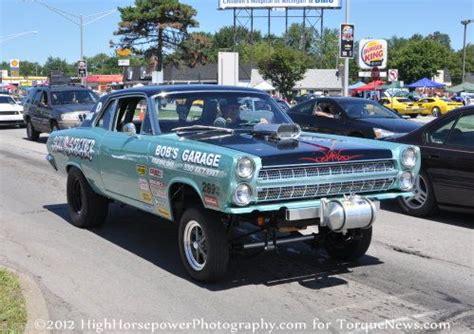 vintage ford straight axle drag car torque news