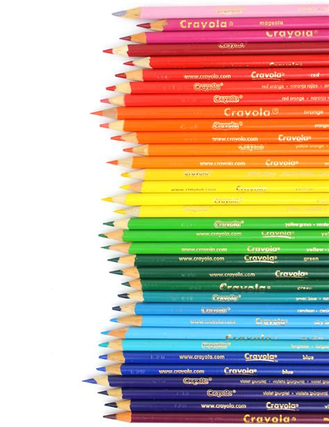 crayola coloring pencils crayola colored pencils a guide to different types of