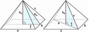 Höhe Von Pyramide Berechnen : mit dem pythagoras strecken in fl chen und k rpern ~ Themetempest.com Abrechnung