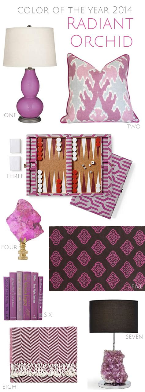 radiant orchid home decor color of the year 2014 radiant orchid simplified bee