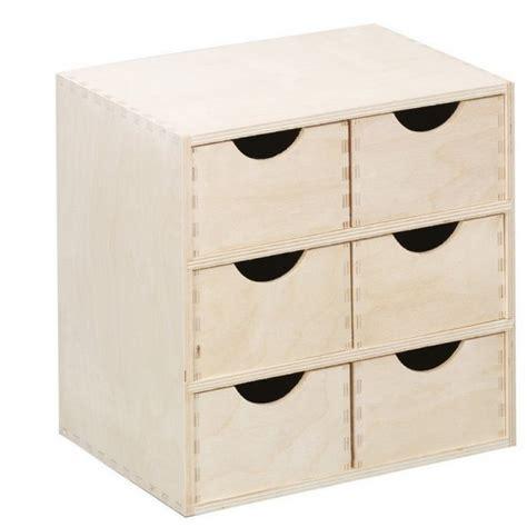 tablier de cuisine rigolo caisson en bois 6 tiroirs zeller 13192