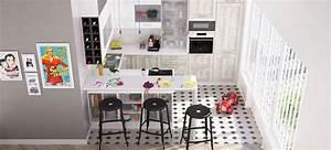 Cuisine Ikea Petit Espace : table cuisine petit espace adopter lu0027lot dans la ~ Premium-room.com Idées de Décoration
