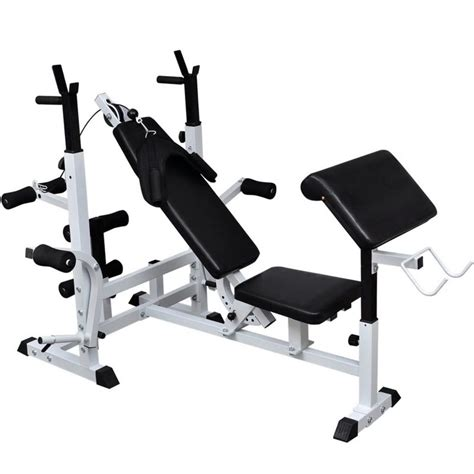 Vidaxlcouk  Weight Multi Bench