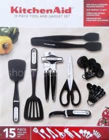 kitchenaid  piece kitchen utensil tools set