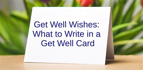 Try 100 get well wishes, including funny messages for kids, get well soon after surgery and more. Get Well Wishes - Wishes Messages Sayings
