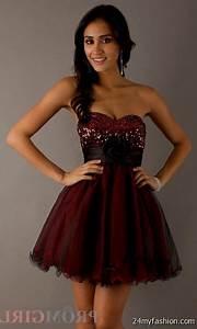 black and red short prom dresses 2016-2017   B2B Fashion