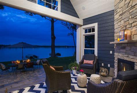 lake house  navy exterior home bunch interior design
