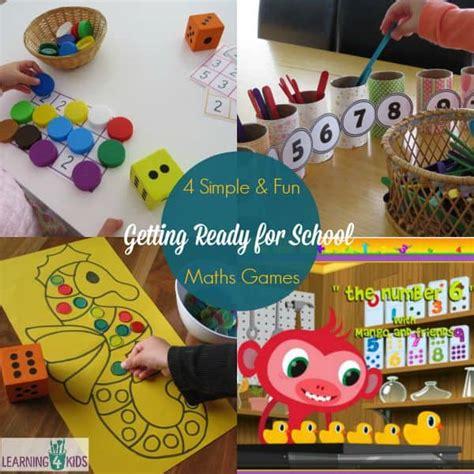 maths activities   ready  school learning