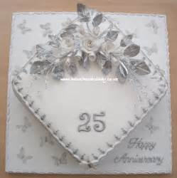 silver wedding anniversary silver wedding anniversary cake 25th flickr photo