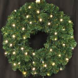 3 pre lit battery operated warm white led sequoia wreath